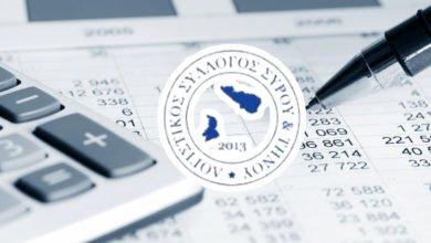 Photo of Ανακοίνωση Λογιστικού Συλλόγου Σύρου – Τήνου